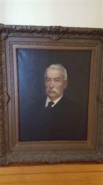 Portrait of John Lawrence Riker -- see details in next photo