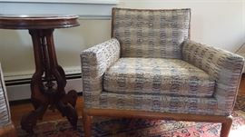 Club chairs in the style of T.H. Robsjohn-Gibbings for Widdicomb (no visible marks)