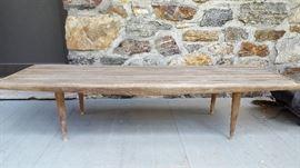 Yugoslavia Mid Century bench (needs TLC)