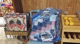 More quilts and pillows!