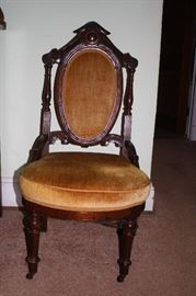 Antique chair, Victorian style