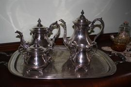 Silver Plate Coffee / Tea Service