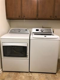 Washer & Dryer, large capacity, like new condition