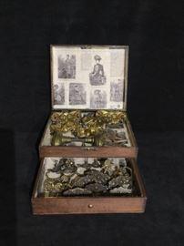 Brass Hardware Salesman Sample Kit
