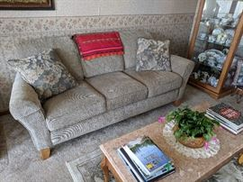 Smith Brothers Vintage Pine couch and loveseat - like new