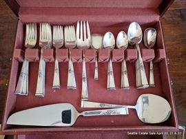 Reed & Barton Classic ROse Sterling Silver Flatware