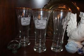Tuborg beer glasses