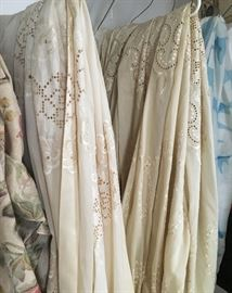 Loads of Lace curtains and sheers