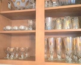 Libbey glasses mid century