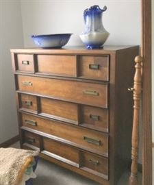 Part of 4 pc mid century bedroom set