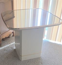 Modern table x 2 w/ matching coffee table