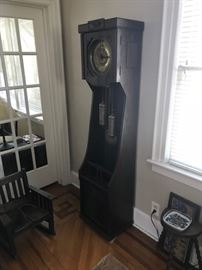German grandfather clock - turn-of-the-century