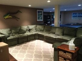 Lazy Boy sectional sleeper sofa