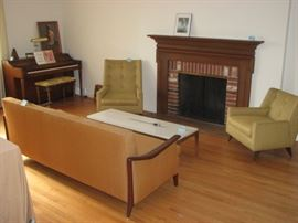 Mid Century Modern room