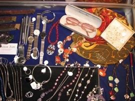 Watches, costume jewelry