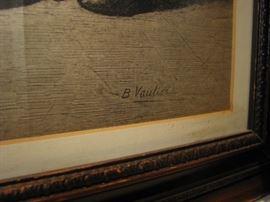 B. Vautier etching