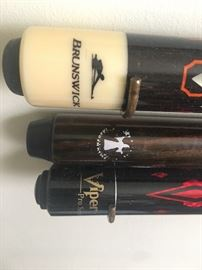 we have pool cue sticks as well as cue carrying cases!