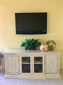 Pottery Barn TV/media cabinet