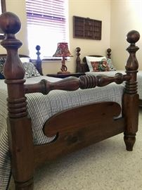 Southern Furniture Cannonball twin beds