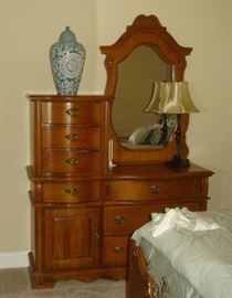 Universal Furniture Co. chifferobe style chest
