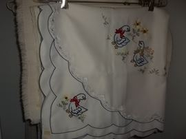 new vintage table linen