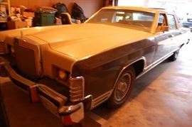 1979 Lincoln Continental Cartier Edition 103K