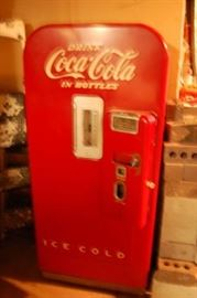 1951 Coke Machine