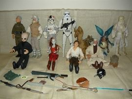 Large size Star Wars figure and accessories
