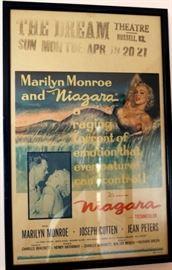 Framed Marilyn Monroe Movie Poster