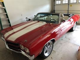 1970 PRO-TOURING / RESTMUND CHEVELLE SS CONVERTIBLE