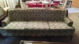 French Provincial sofa 100