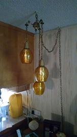 vintage hanging lamp  50