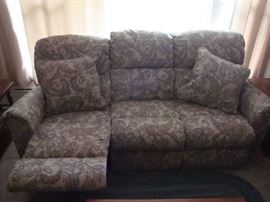 Reclining Sofa (1 Year Old)