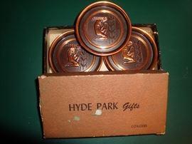 Vintage Hyde Park~Set of 6 Coasters