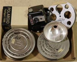 Polaroid film and camera