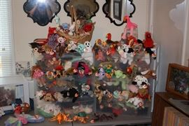 Beanie Babies.  All priced at $2 each or three for $5.