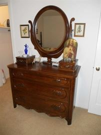 Solid Cherry  Dresser Davis Brothers Cabinet Company Nashville Tennessee.