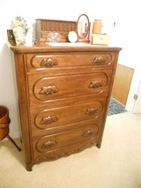 Solid Cherry Chest Davis Brothers Cabinet Company Nashville Tennessee.
