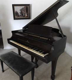 "Steinway & Sons Spinet Baby Grand Piano circa 1939 Model ""S"" Asking $4,500.00 to start."