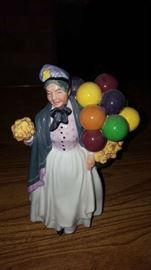 $60    Royal Doulton balloon lady