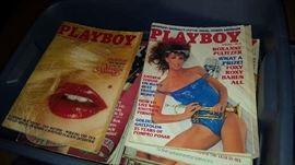 $1   Playboy magazines