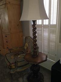 Barley Twist table lamp