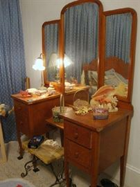 Birdseye Maple Vanity