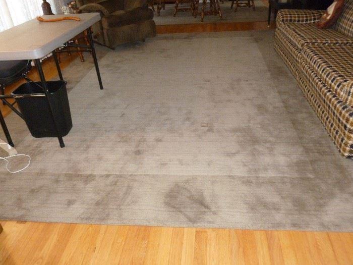 Huge room-size rug