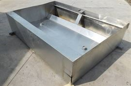9 Foot Stainless Steel Pizza Hood