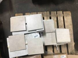 65 sq ft of 6x6 San Rocco Almond Porcelain Wall Ti ...