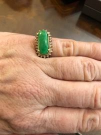 Jade ring - the color!