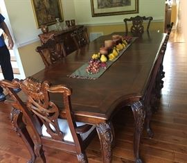 Wellington Manor Formal Dining Table and Chairs
