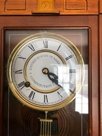 Constitution wall clock Limited edition A08647 BUY IT NOW $60