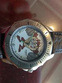 Looney Tunes Collector Men's Watch Tasmanian Devil  http://www.ctonlineauctions.com/detail.asp?id=702932